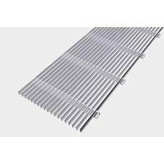 Kermi | Решетки для внутрипольных конвекторов, продольная, алюминий
